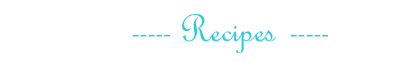 Recipes copy